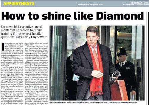 The Sunday Times, January 2011